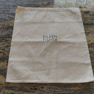 Eileen Fisher drawstring dust cover bag